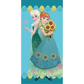 Bavlněná osuška Ledové království - flower