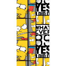 """Bavlněná osuška Simpson """"Bart"""""""