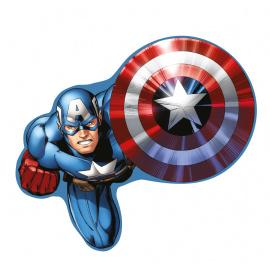 Tvarovaný polštářek Captain America