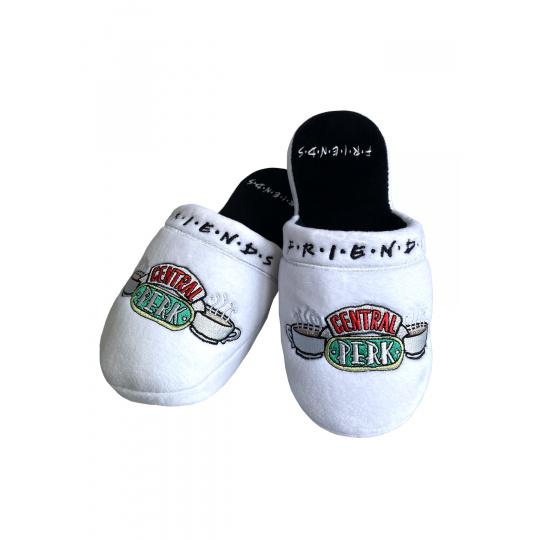 Pantofle Friends   Přátelé bílé Central Perk