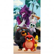 Bavlněná osuška Angry Birds