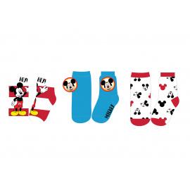 Dětské ponožky Disney Mickey mix.3ks 23-34