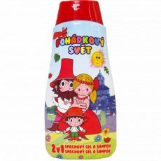 Dětský sprchový gel + šampon 2v1 Loupežník Rumcajs