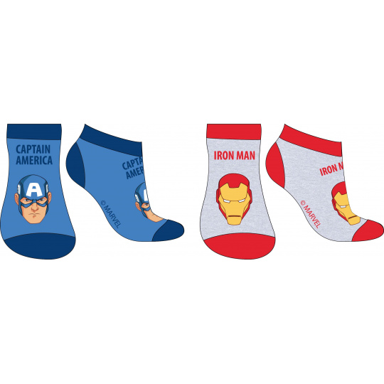 Dětské ponožky Avengers mix.2ks 23-34