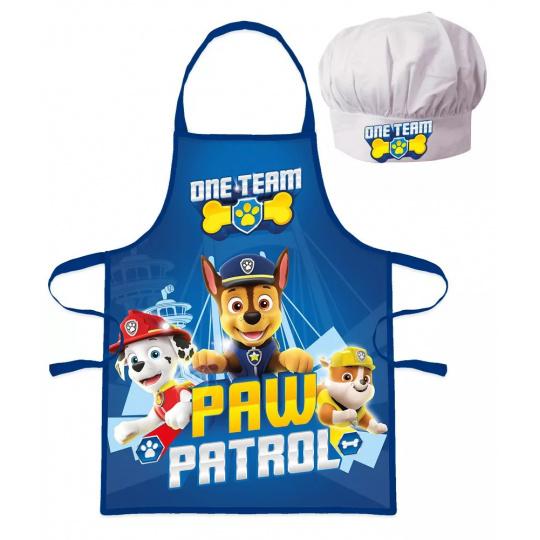Dětský kuchařský set Tlapková patrola modrá