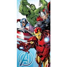 Bavlněná osuška Avengers light blue
