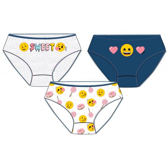 Dívčí kalhotkový set EMOJI 98-128