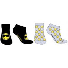 Dětské ponožky Smiley mix.2ks 23-34