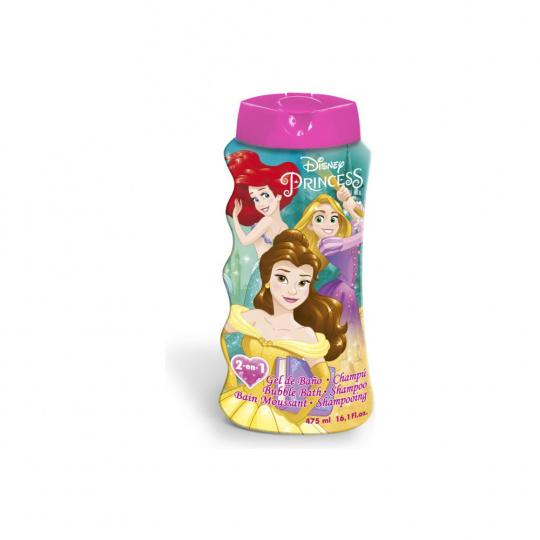 Dětský šampon a koupelová pěna 2v1  Disney princezny