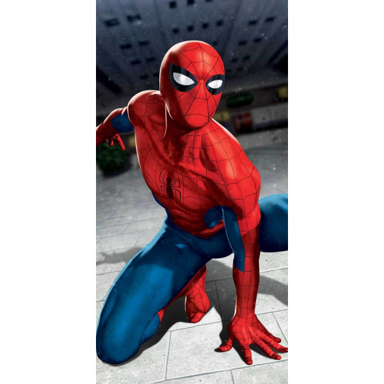 "Osuška Spider-man ""Blue 03"""