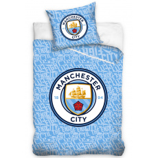 Fotbalové povlečení svítící Manchester City