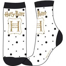 Ďětské ponožky Harry Potter bílé 23-34