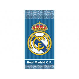 FOTBALOVÁ OSUŠKA REAL MADRID BLUE STRIPES 70x140