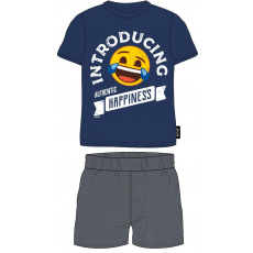 Pánské pyžamo Emoji modré  M-XXL