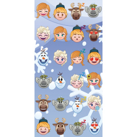 Bavlněná osuška Ledové království Emoji