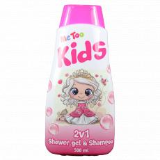 Me Too Sprchový gel + šampon 2v1 Princezna