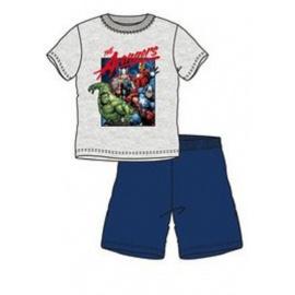 Dětské pyžamo Avengers šedé 3A/8A