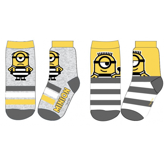 Dětské ponožky Mimoni 2ks 23-34