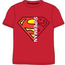 Triko chlapecké SUPERMAN červené 104-134