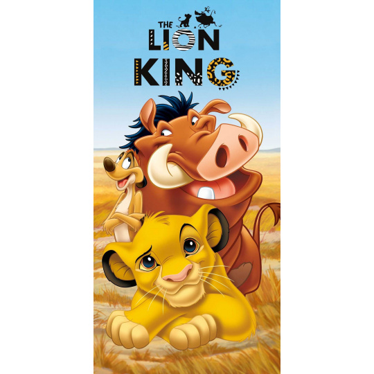 Bavlněná osuška Lví král