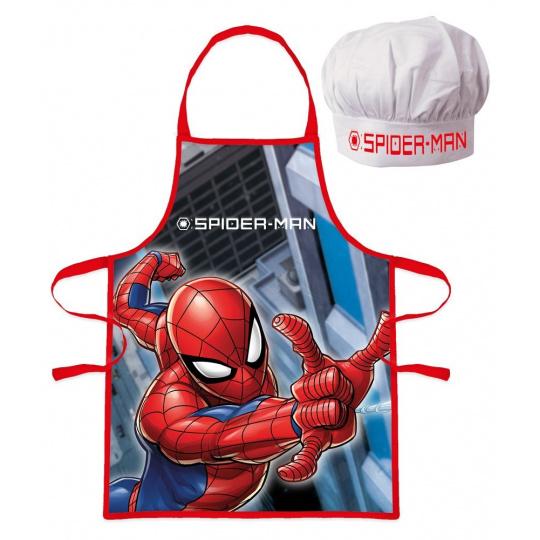 Dětský kuchařský set Spiderman