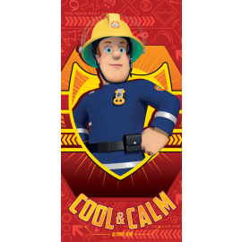 Bavlněná osuška Požárník Sam