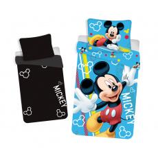 Dětské povlečení Mickey svítící efekt 140x200 70x90