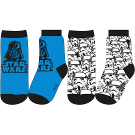 Dětské ponožky Star Wars mix.2ks 23-34