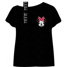 Dívčí bavlněné triko Disney Minnie 122-152