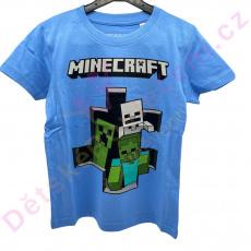 Kraťasové pyžamo Minecraft 4-12let