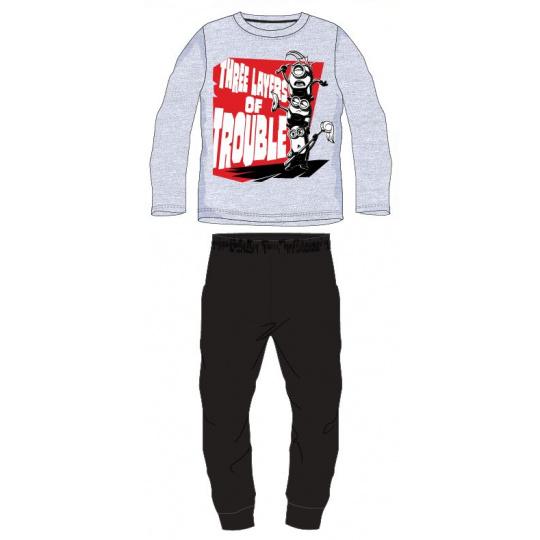 Dětské pyžamo Mimoni šedé 98-128