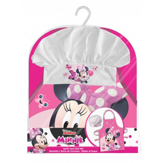 Dětský kuchařský set  Minnie Motýl