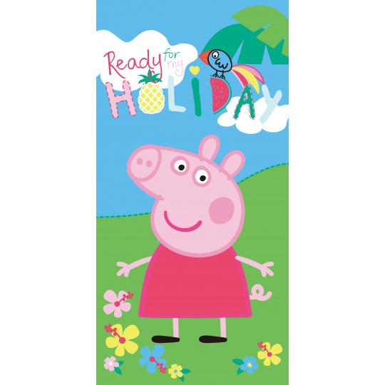 Bavlněná osuška Peppa Pig Holiday