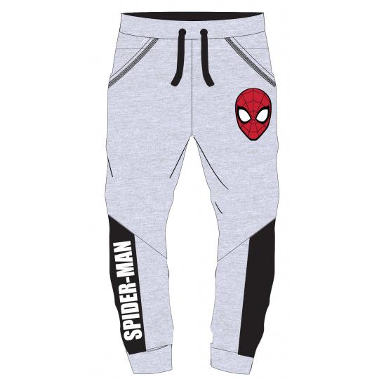 Dětské tepláky Spider-man šedé 104-134
