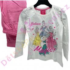 Disney princezny pižámko - bílý