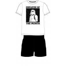 Pánské pyžamo Star Wars bílé  M-XL