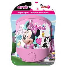 Krásné růžové světlo Disney Minnie