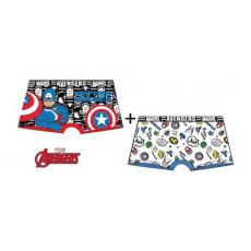 Chlapecké boxerky Avengers Captain America 2ks 2/3-6/8