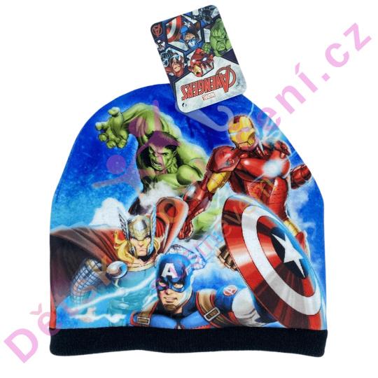 Zimní čepice Avengers