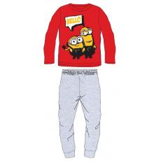 Dětské pyžamo Mimoni červené 98-128