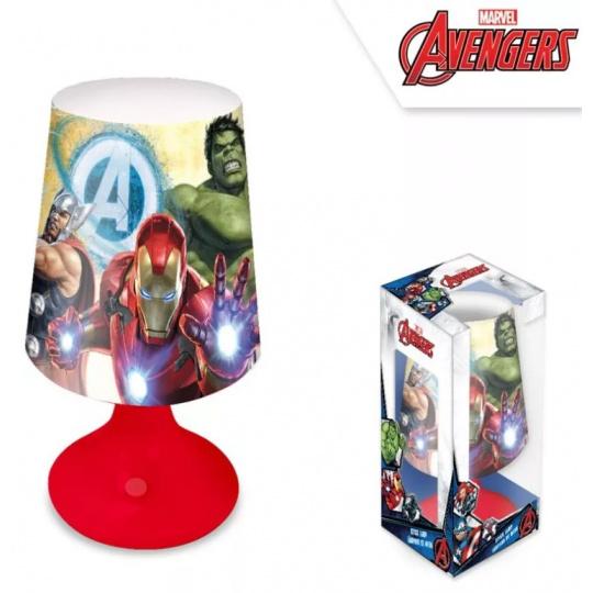 Nádherná stolní lampička Avengers
