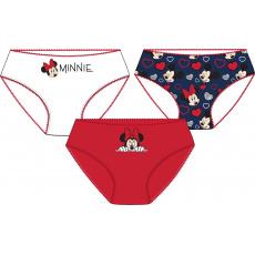 Dívčí kalhotky Minnie set 3ks 104-134