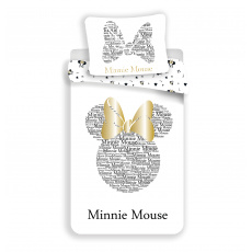 Povlečení Minnie Gold