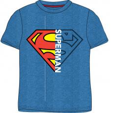 Bavlněné triko SUPERMAN modré 104-134