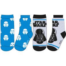 Dětské ponožky mix.2ks Star Wars 23-34