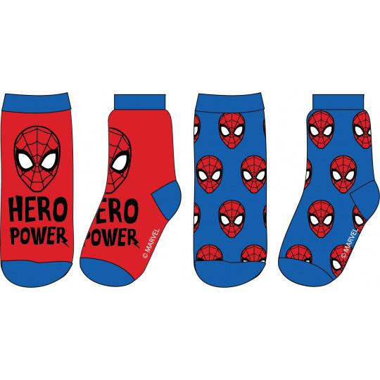 Dětské ponožky  Spiderman 2ks 23-34